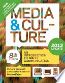 Media and Culture with 2013 Update