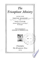 The triumphant ministry