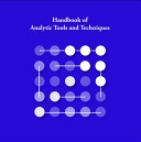 Handbook of Analytic Tools and Techniques