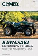 Kawasaki Bayou Klf300 2wd 4wd