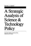 A strategic analysis of science   technology policy