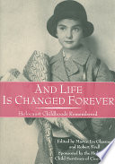 And Life is Changed Forever Who Lived Through It This Collection Offers An