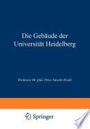 Die Gebäude der Universität Heidelberg