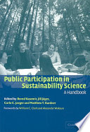 Public Participation In Sustainability Science