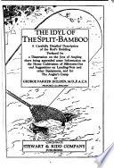 The Idyl of the Split bamboo Book PDF