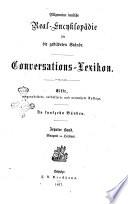 Conversations lexikon Allgemeine deutsche Real Encyklopadie fur die gebildeten stande