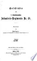 Geschichte des 5. brandenburgischen infanterie-regiments