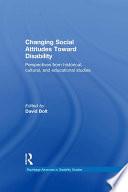 Changing Social Attitudes Toward Disability