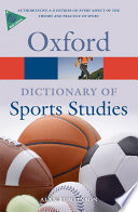A Dictionary of Sports Studies
