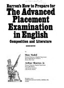 Barron s How to Prepare for the Advanced Placement Examination in English