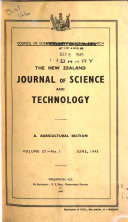 The New Zealand Journal of Science and Technology