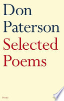 Selected Poems : best first collection in 1993, don paterson...