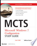 MCTS Windows 7 Configuration Study Guide