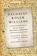 Decoding Roger Williams