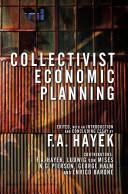 Collectivist Economic Planning