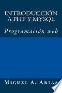 Introducci N A Php Y Mysql