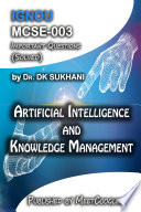 Mcse 003 Artificial Intelligence And Knowledge Management