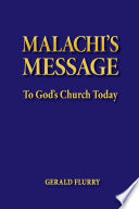 malachi s message to god s church today