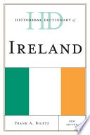 Ebook Historical Dictionary of Ireland Epub Frank A. Biletz Apps Read Mobile