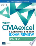 Wiley Cmaexcel Learning System Exam Review 2016