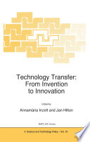 Technology Transfer  From Invention to Innovation
