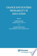 Chance Encounters  Probability in Education