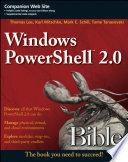 Windows PowerShell 2 0 Bible