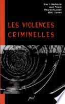 Les violences criminelles