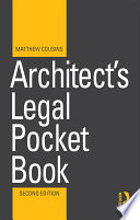 Architect s Legal Pocket Book