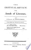 The Critical Review: Or, Annals Of Literature : ...