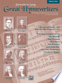 Great Hymnwriters