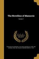 NOVELLINO OF MASUCCIO
