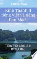 Kinh Thánh II tiếng Việt và tiếng Đan Mạch