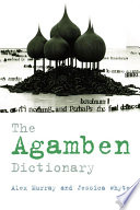 Agamben Dictionary