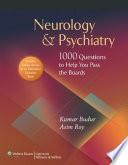 Neurology   Psychiatry
