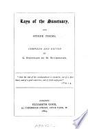Lays of the Sanctuary Book PDF