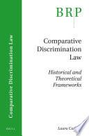 Comparative Discrimination Law