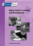 Motor Control  Learning and Development