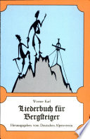 Liederbuch für Bergsteiger