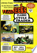 WALNECK S CLASSIC CYCLE TRADER  JUNE 1998