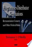 Programmer Distributor Negotiations