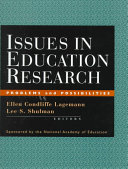Issues In Education Research book
