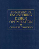 Introduction To Engineering Design Optimization book