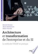 illustration du livre Architecture et transformation de l'entreprise et du SI
