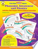 Phonemic Awareness and Phonics  Grades K   1