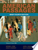 American Passages  A History of the United States  Volume 2  Since 1865  Brief