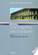 Report on the Foreign Policy of the Czech Republic