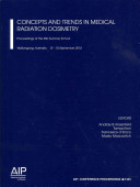 Concepts And Trends In Medical Radiation Dosimetry