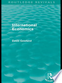 International Economics Routledge Revivals