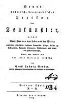 Neues historisch-biographisches Lexikon der Tonkünstler: Th. K-R